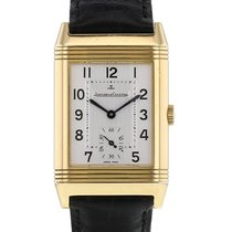 Jaeger-LeCoultre Reverso Grande Taille Yellow gold 36mm Silver Arabic numerals