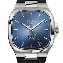 Glashütte Original Steel 40mm Automatic 2-39-47-13-12-06 new