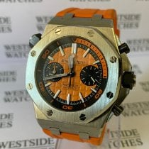 Audemars Piguet Royal Oak Offshore Diver Chronograph Acero 42mm Naranja Sin cifras