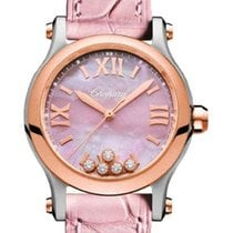 Chopard Rose gold 36mm Automatic 278573-6011 new