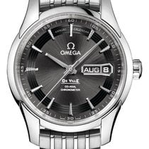 Omega De Ville Hour Vision Steel 41mm Grey United Kingdom, Wilmslow