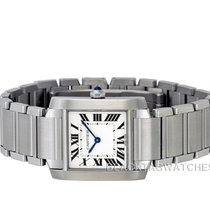 Cartier Tank Française new 2019 Quartz Watch with original papers wsta0005