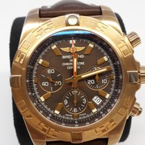 Breitling Chronomat 44 Rose gold 44mm Brown No numerals