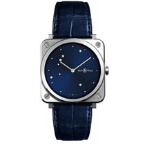 Bell & Ross BR S Acier 39mm Bleu France, Paris