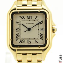 Cartier Panthère Yellow gold 28mm Roman numerals
