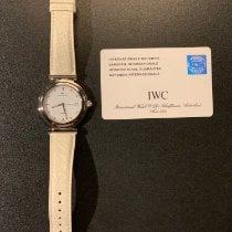 IWC Da Vinci Automatic pre-owned 37mm White Date Leather