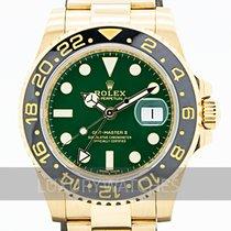 Rolex GMT-Master II Sárgaarany 40mm Zöld