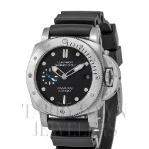 Panerai Luminor Submersible 1950 3 Days Automatic Stal 42mm Czarny