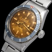 Rolex Submariner (No Date) Steel 38mm Brown