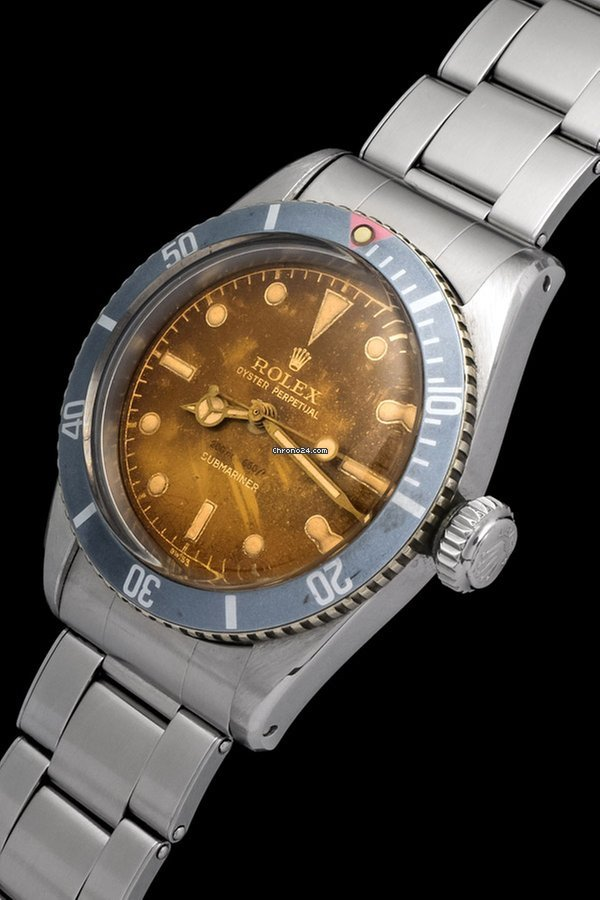 Rolex Submariner (No Date) 6538 Big Crown 1956 pre-owned