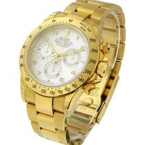 Rolex Used 116528 Yellow Gold Daytona on Bracelet 116528 -...