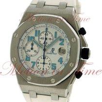 Audemars Piguet Royal Oak Offshore Steel 42mm White Arabic numerals