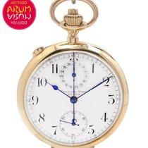 Universal Watch Chronograph Rattrapante Pocket Watch