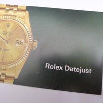 Rolex vintage DATEJUST Booklet 1177-15