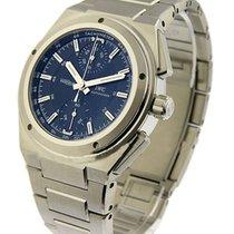 IWC 372501 Ingenieur Chronograph - Steel on Bracelet with...