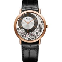 Piaget new Manual winding 38mm Rose gold Sapphire crystal