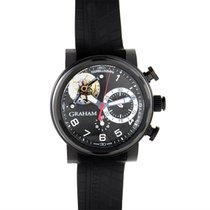 Graham Chronograph 47mm Automatic pre-owned Black