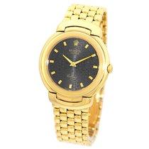 Rolex Midsize 18K Yellow Gold Cellini # 6622 18K Bracelet Box...