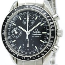 Omega Speedmaster Automatic Stainless Steel Men's Sports Watch...