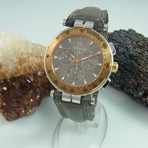 Michel Herbelin Chronograph 36657-tr22gr Saphir-glas Armbanduh...