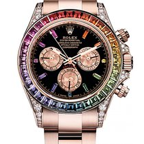 Rolex DAYTONA COSMOGRAPH 40MM EVEROSE GOLD 'RAINBOW'ТЮНИНГ