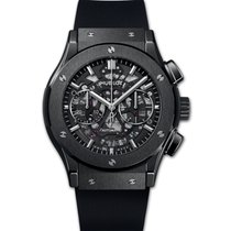 Hublot Classic Fusion Aerofusion new 2019 Automatic Chronograph Watch with original box and original papers 525.CM.0170.RX