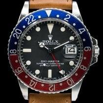 "Rolex 1675 Vintage GMT Master ""Pepsi Bezel"" SS Circa 1978 (29736)"