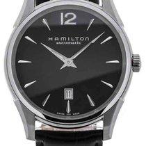 Hamilton Jazzmaster Slim Steel 43mm Black