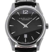 Hamilton Jazzmaster Slim Acero 43mm Negro