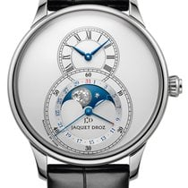 Jaquet-Droz Grande Seconde Steel 43mm Silver United States of America, New York, Airmont
