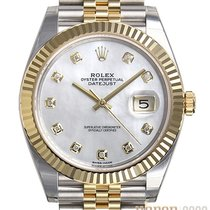 Rolex new Automatic Center Seconds Chronometer Screw-Down Crown 41mm Gold/Steel Sapphire Glass