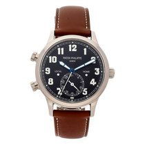 Patek Philippe Travel Time White gold 42mm Black Arabic numerals United States of America, Pennsylvania, Bala Cynwyd