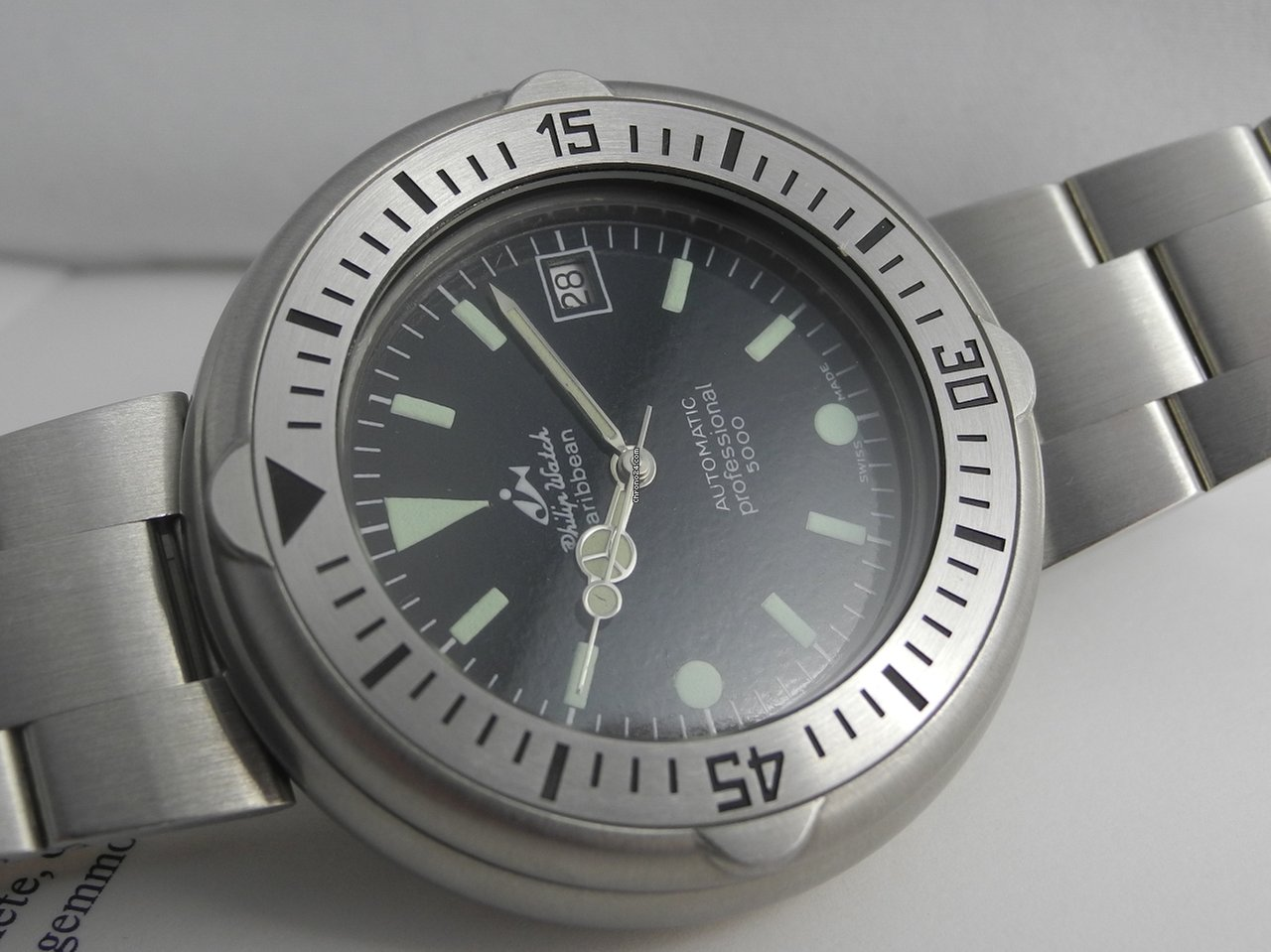 Automatic Watch Stock 5000 Philip New Old Caribbean mnvN0w8