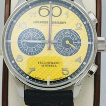 Alexander Shorokhoff Steel 43.50mm Automatic AS.N.PT05-55 new United States of America, Florida, Tarpon Springs