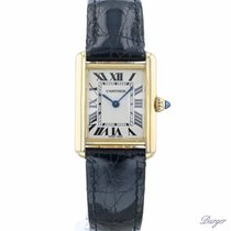 Cartier Tank Louis Cartier Yellow gold 22mm White Roman numerals