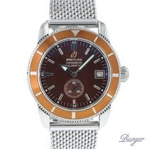 Breitling Chronometer 38mm Automatic 2007 pre-owned Superocean Héritage (Submodel) Brown