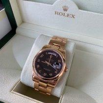 Rolex Day-Date 36 gebraucht 36mm Datum Roségold