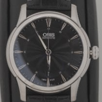 Oris Artelier Date Steel 40mm Black No numerals United States of America, Louisiana, New Orleans