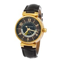 Louis Vuitton Gulguld 41mm Automatisk Q113G begagnad