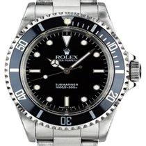 Rolex 14060 Acier 1991 Submariner (No Date) 40mm occasion