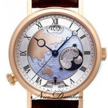 Breguet new Automatic Rose gold Sapphire crystal