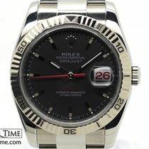 Rolex Datejust Turn-O-Graph Acél 36mm Szürke Számjegyek nélkül