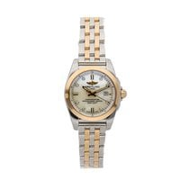 Breitling Galactic pre-owned 29mm White Date Fold clasp
