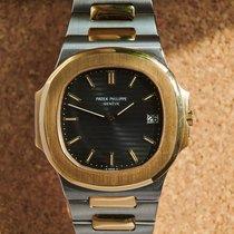 Patek Philippe 3700 Gold/Stahl 1981 Nautilus gebraucht