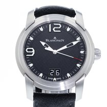 Blancpain L-Evolution pre-owned 44mm Black Date Leather