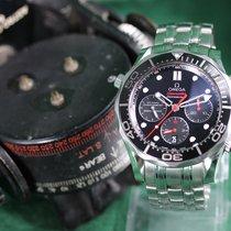 Omega Seamaster Diver 300 M новые 2016 Автоподзавод Хронограф Часы с оригинальными документами и коробкой 212.30.44.50.01.001