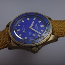 Paul Picot Paul Mariner III Bronze 42mm Blau