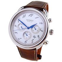 Hermès Steel 43mm Automatic AR4.910 pre-owned