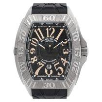 Franck Muller Conquistador GPG Titanium 45mm Black Arabic numerals