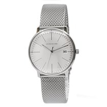 Junghans max bill Damen Stal 32.7mm Srebrny